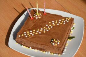 Gateau double chocolat - anniversaire 1