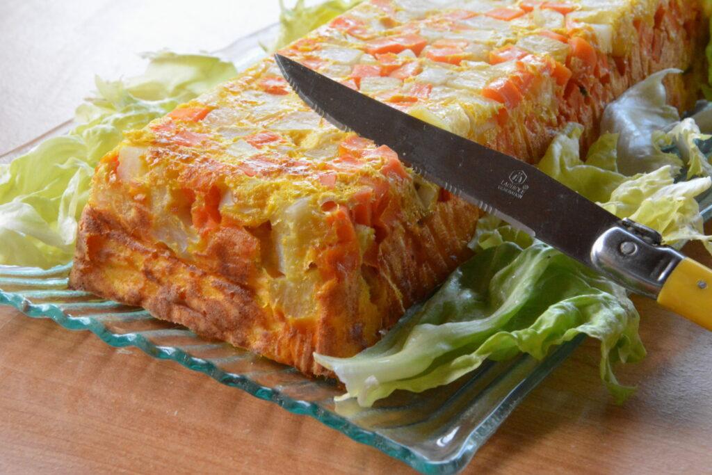 terrine carotte noisette - Terrine de légumes d'hiver