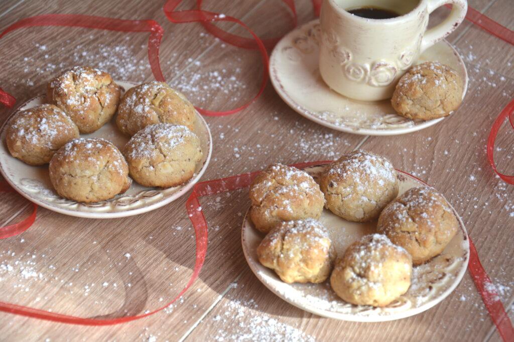 biscuits boule de neige - Biscuits de l'avent
