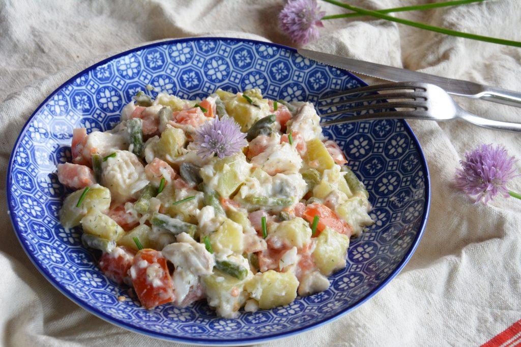 salade piemontaise poisson 2