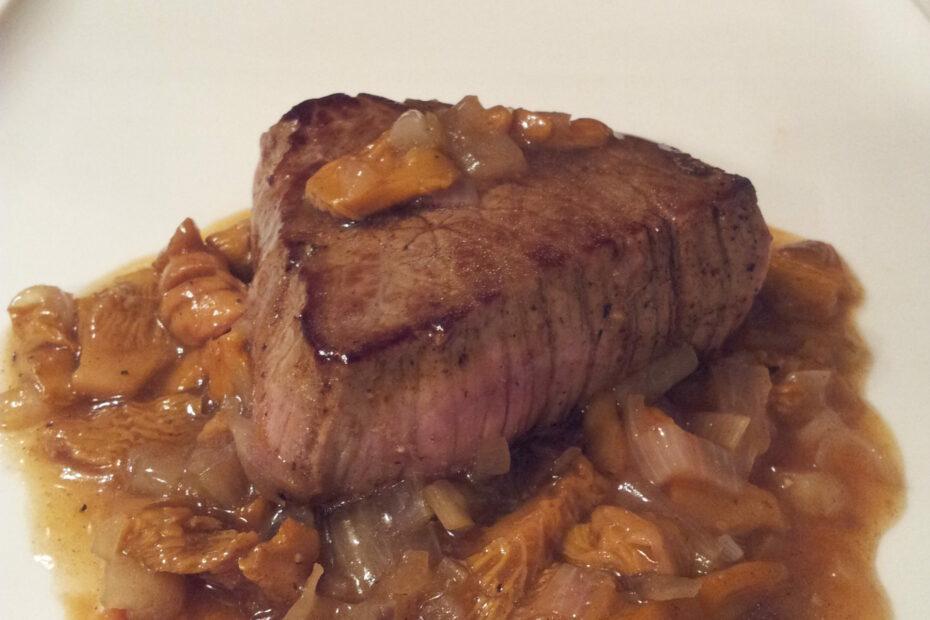 Tournedos Boeuf sauce champignons // une idée facile pour les repas de fêtes ou plus !