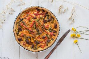 Tarte poivrons chorizo - Recette d'été