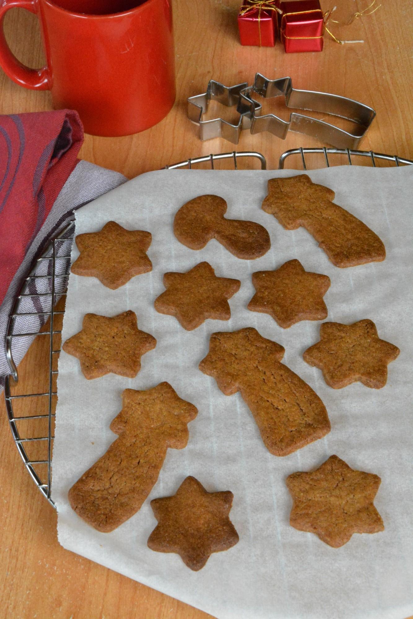 Biscuits sablés façon pain d'épice