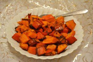 potimarron rôti épices - recette facile