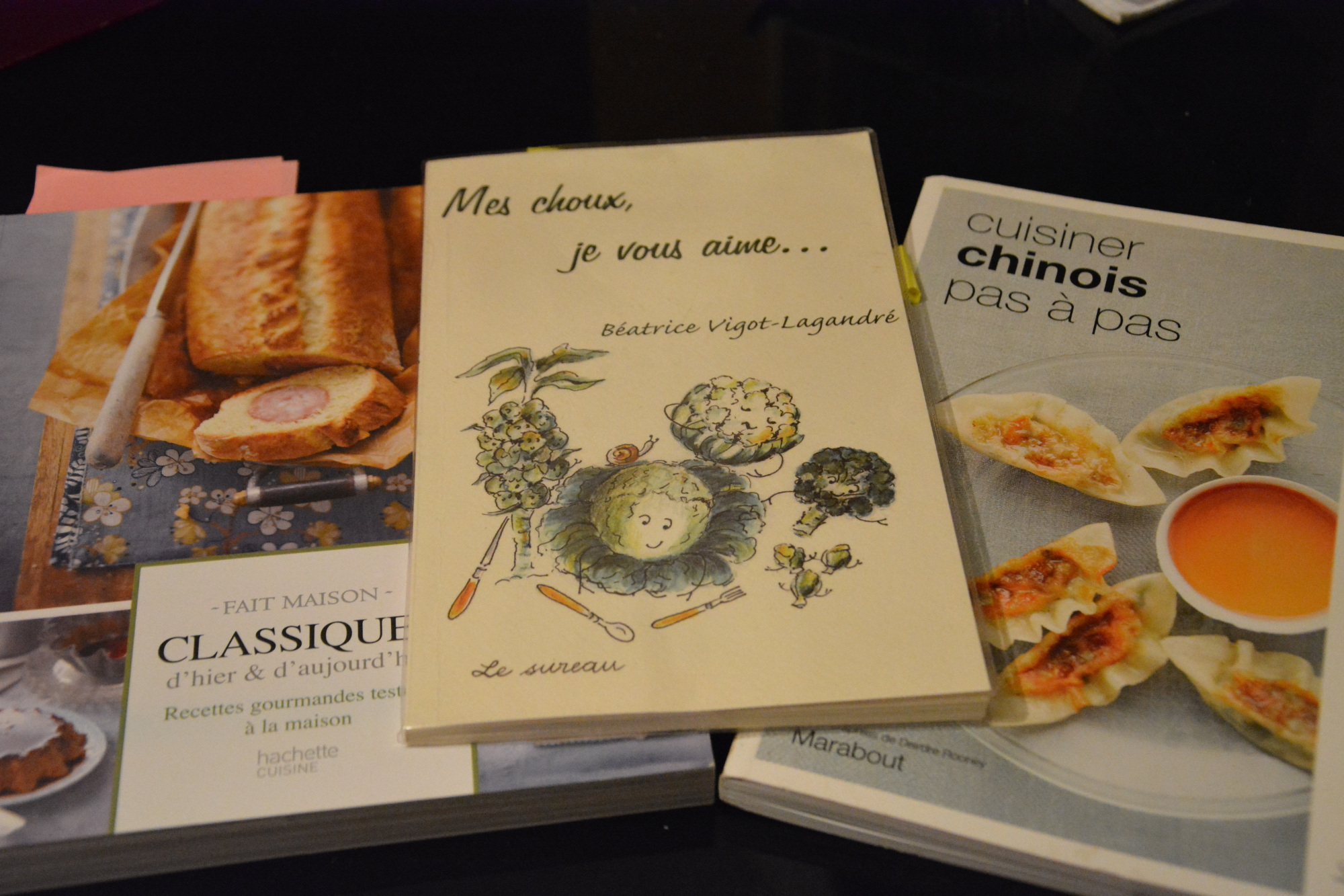 Ma sélection de livres de recettes pour l'hiver
