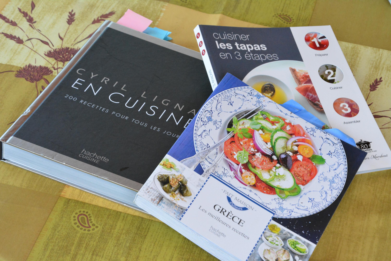 Ma sélection de livres de recette pour l'été