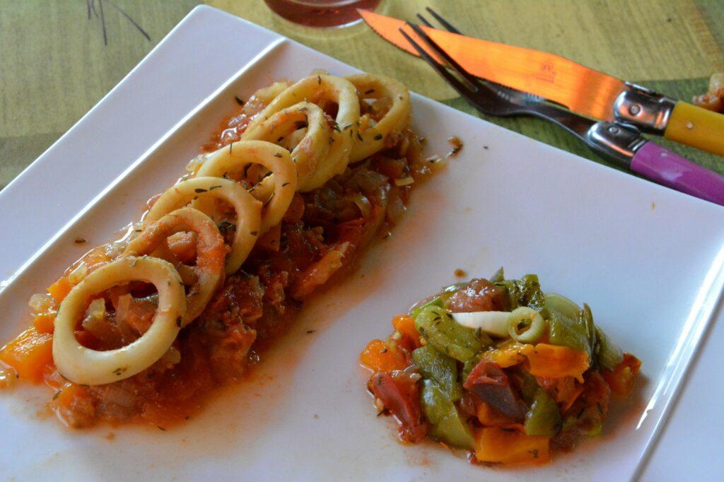 Calamars-provencale