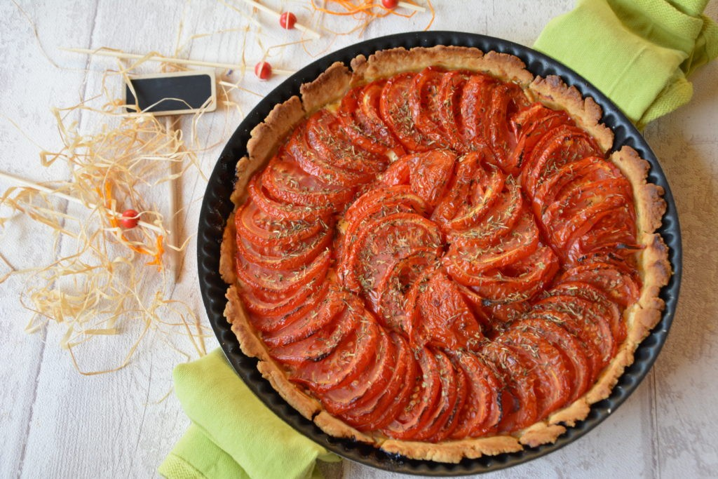 Tarte Tomate & Moutarde - recette tarte tomate généreuse et gourmande - un classique de l'été !