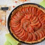 cuisiner légumes : tarte à la tomate