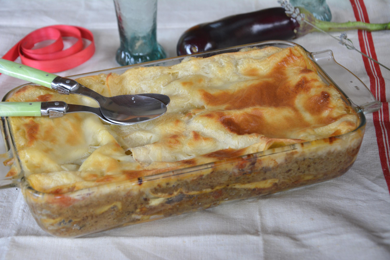 Lasagnes façon moussaka