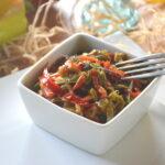 cuisiner les légumes : poivronnade