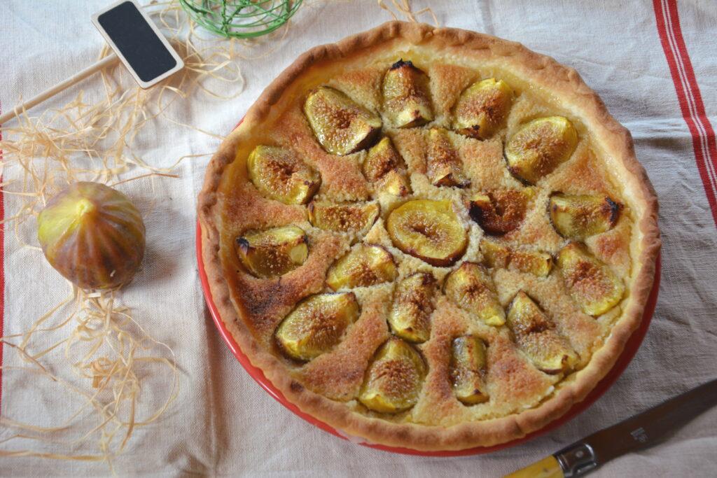 Tarte figue amande - Dessert d'été - Au Fil du Thym