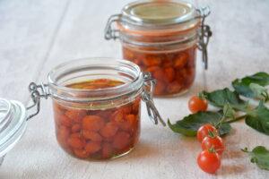 conserve tomate cerise / Tomates cerises confites - Au Fil du Thym