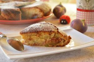 Gâteau figues et miel ou moelleux figues et miel