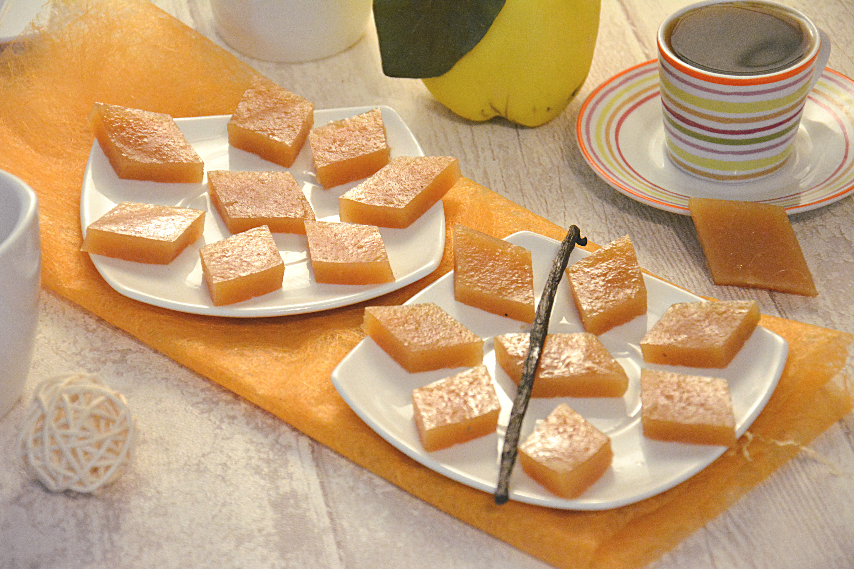 Pâte de coings à la vanille