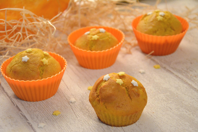 Muffins moelleux potiron, amandes, cannelle {Halloween ou pas}