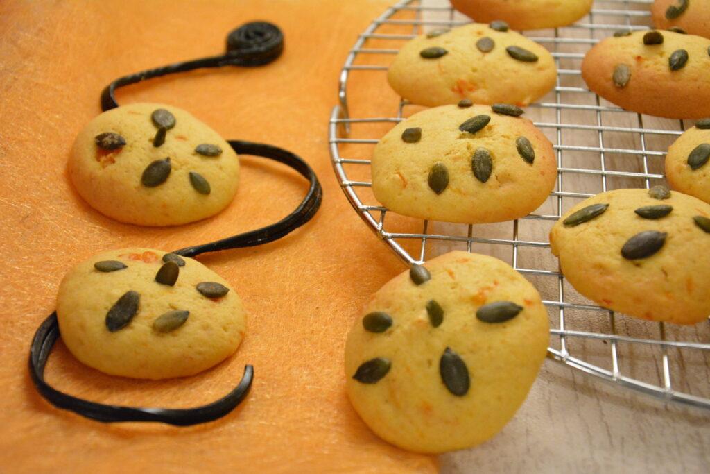 Biscuits potiron et graines de courge (très moelleux, et faciles à préparer)