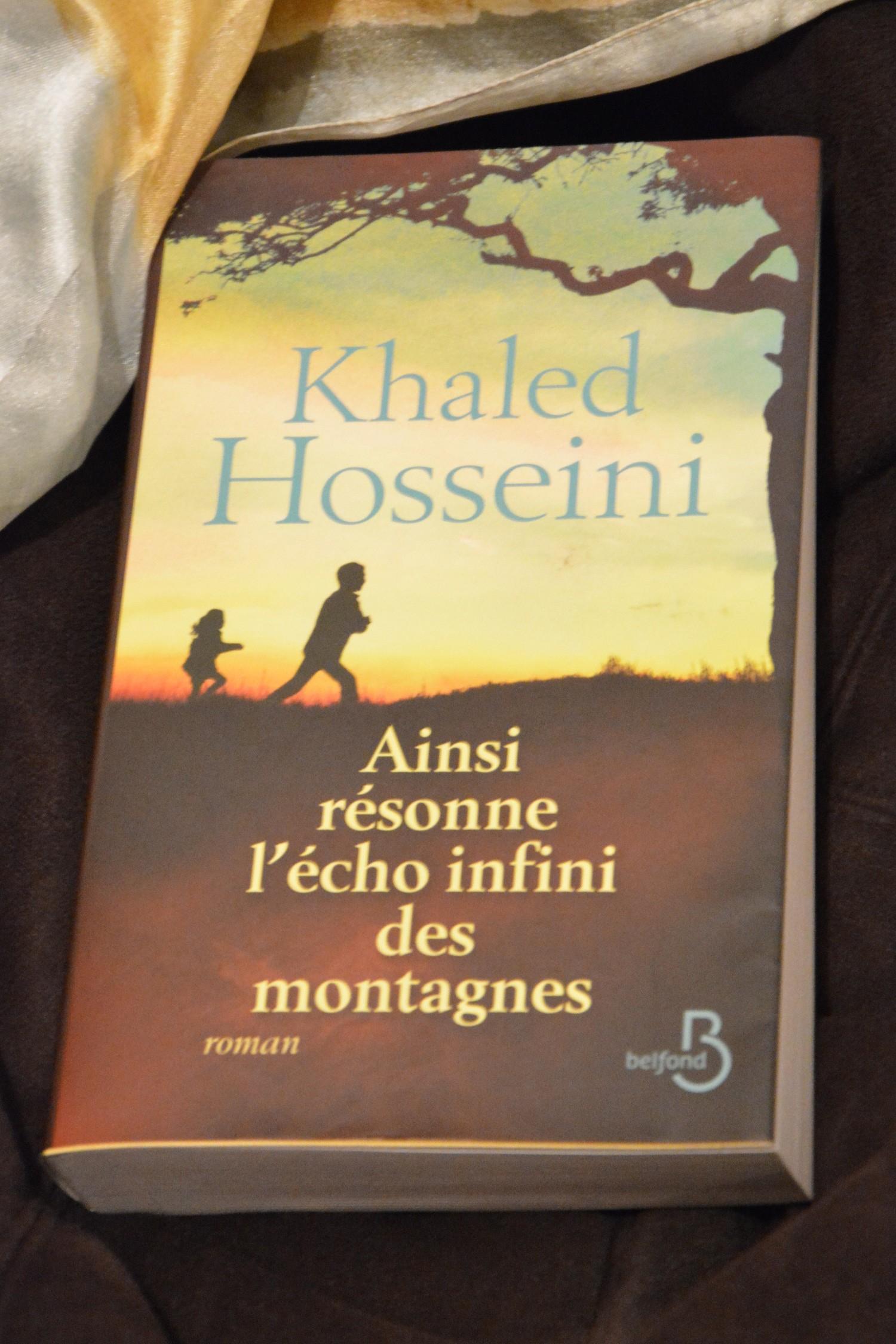 """Dernière lecture #1 : """"Ainsi résonne l'écho infini des montagnes"""" de K.Hosseini"""