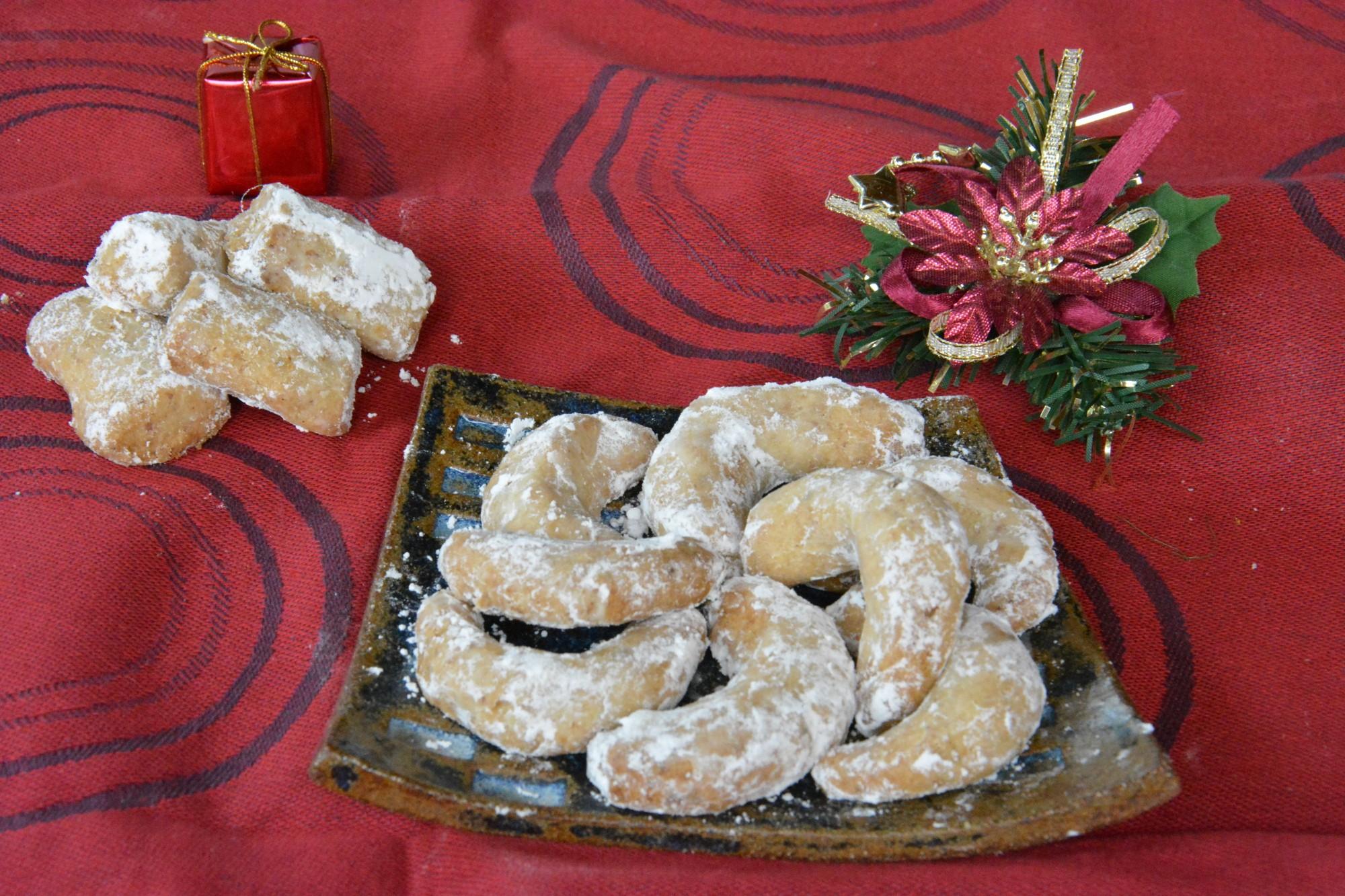 Vanille Kipferl (biscuits de l'avent)