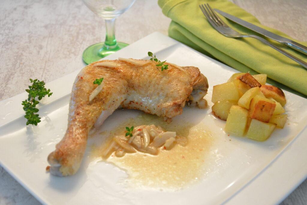 Cuisses-de-poulet-ail