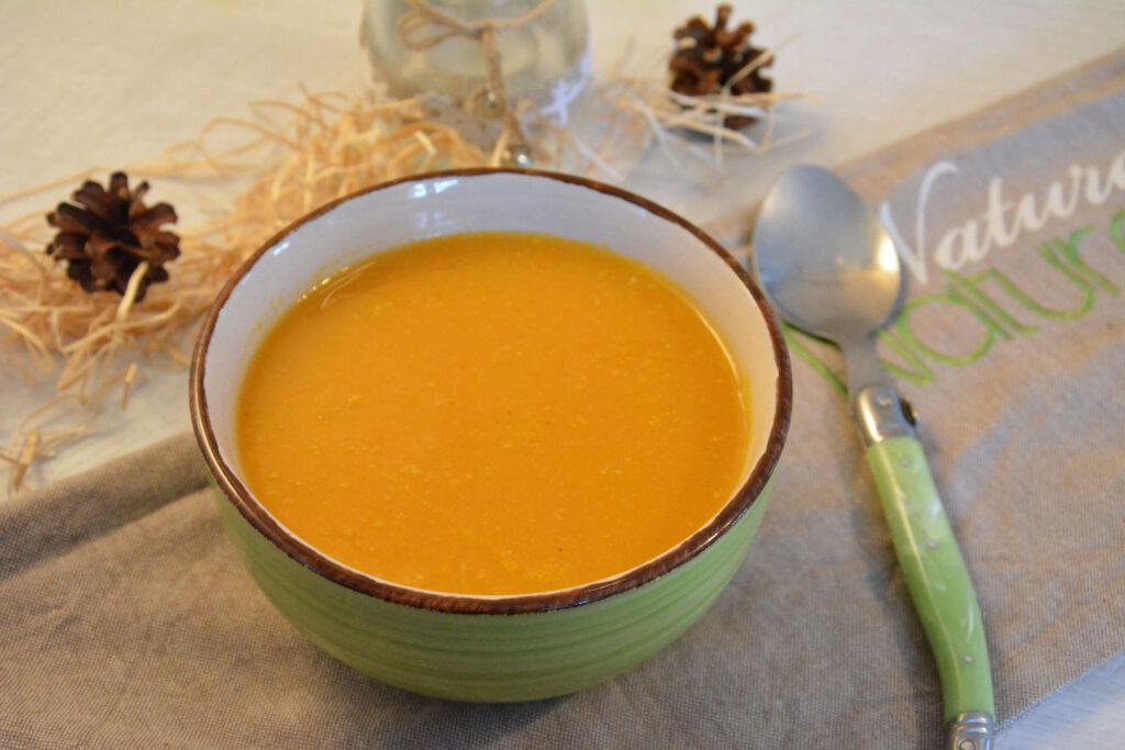 Velouté légumes hiver poêlés - Soupe d'hiver