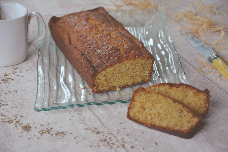 Cake à l'anis et au miel