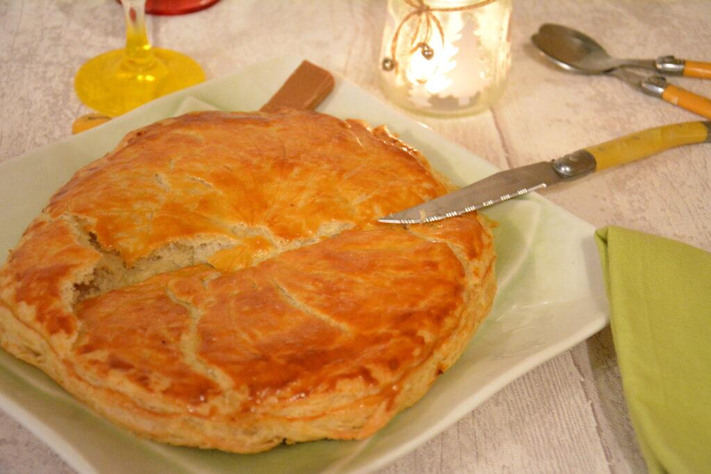 galette frangipane praline / galette des rois au praliné