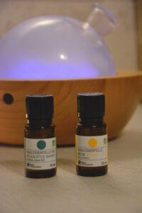 deux de mes huiles spécial eshiver