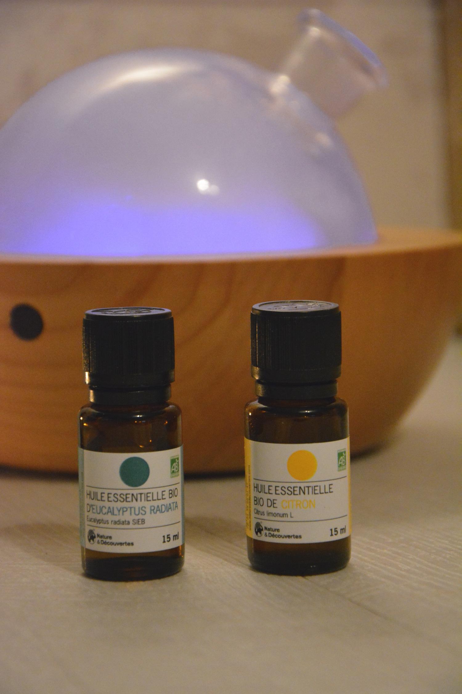 Astuces : Les huiles essentielles de l'hiver