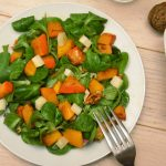 cuisiner légumes : salade mâche potimarron