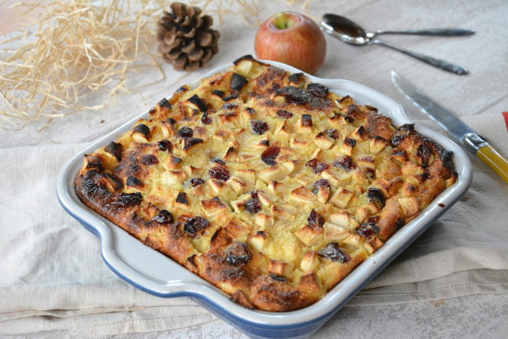 gâteau brioché pommes - cuisine anti gaspi