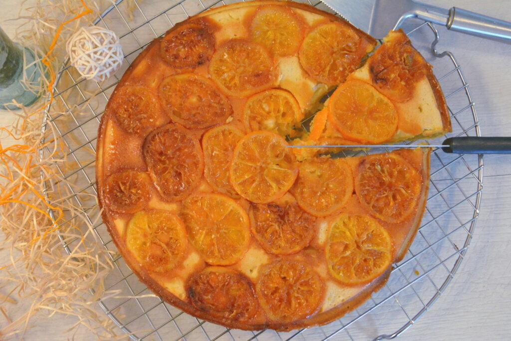 moelleux clémentine ricotta - gâteau aux agrumes