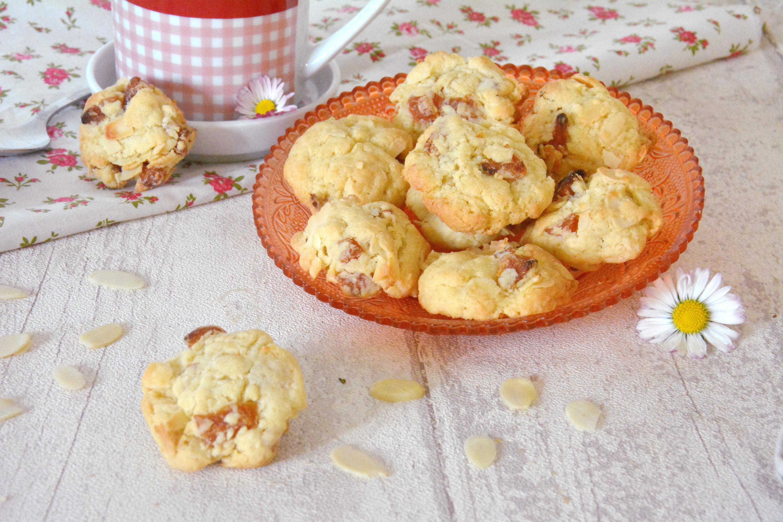 Cookies abricots secs et amandes {cookies d'été}