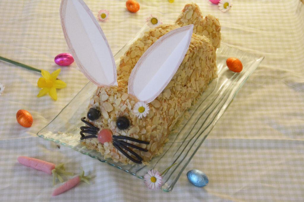 gâteau lapin de pâques (gâteau janine)