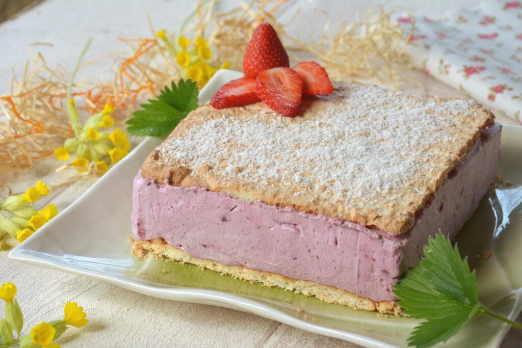 Bavarois fruits rouges et coco - dessert printemps - Au Fil du Thym