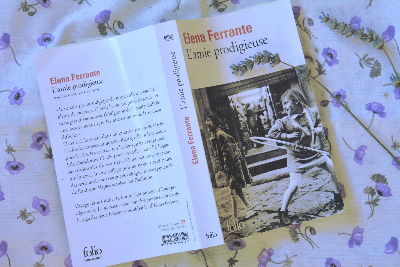 Dernières Lectures #7 : L'amie prodigieuse – E. Ferrantes