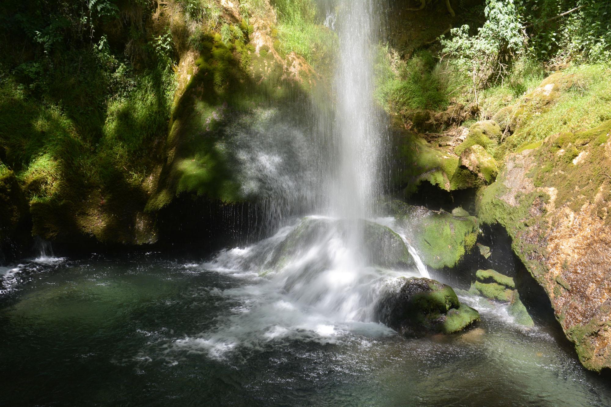 Magnifiques chutes de la Druise (Vercors, Drôme)