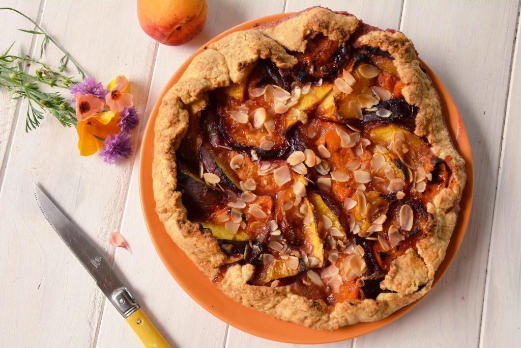 tarte rustique fruits été - Au Fil du Thym