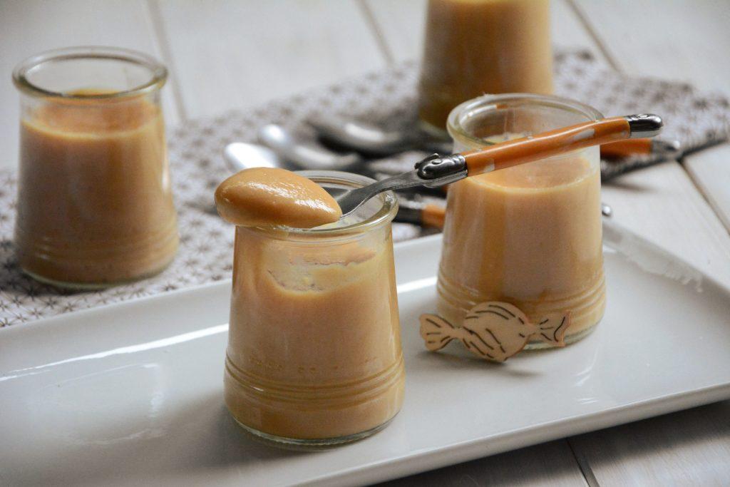 Crème dessert au caramel façon crème nadette