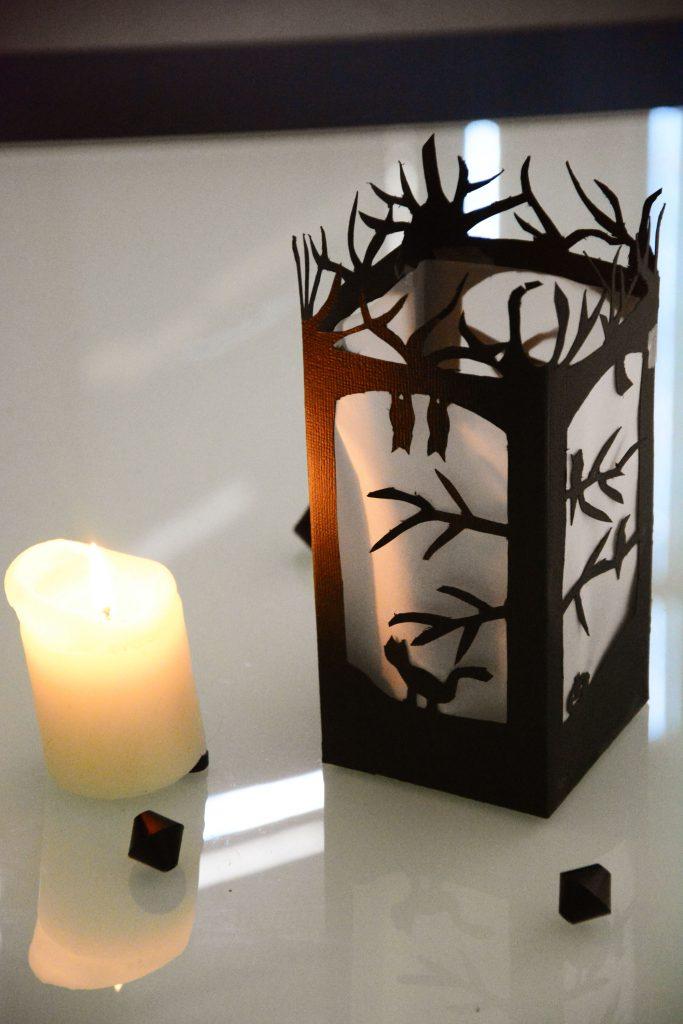 diy lanterne papier halloween