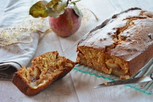 Cake pomme tatin - Cake pomme caramel