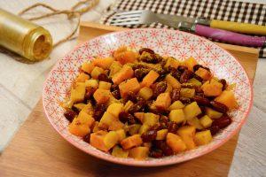Colombo végétarien aux haricots rouges et légumes d'auomne /hiver