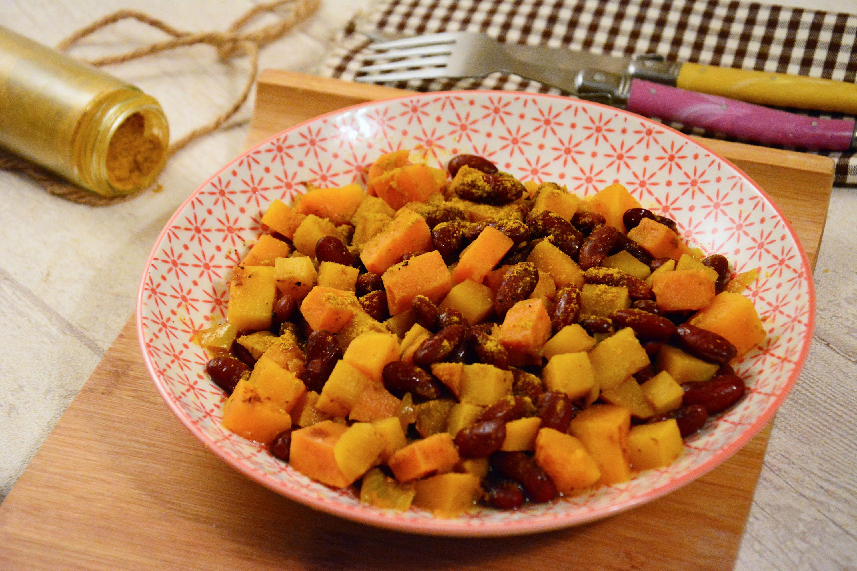 Colombo végétarien {haricots rouges & légumes d'automne}