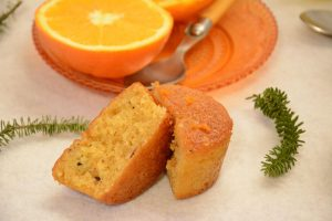 Moelleux orange et amandes - Délicieux petits moelleux oranges pour le goûter ou autre - Au Fil du Thym