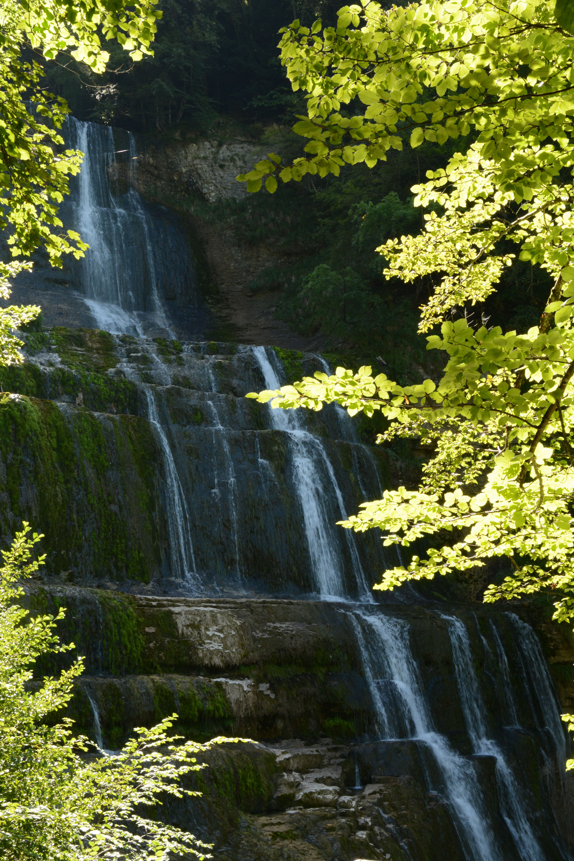 S'émerveiller devant Les cascades du Hérisson (Jura)