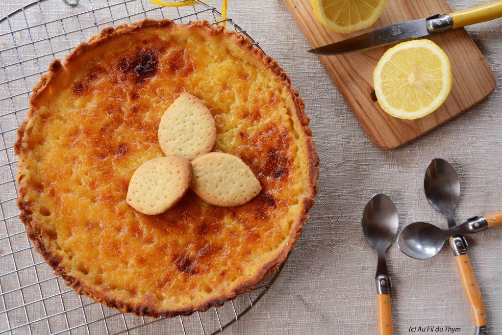 Tarte au citron Bocuse (facile et gourmande !)