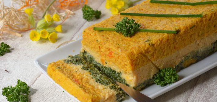 Terrine legumes printemps - Terrine légumes facile - Au Fil du Thym