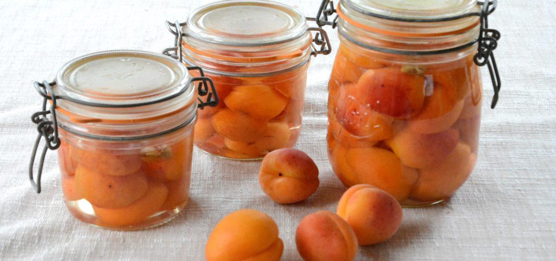 conserve abricots sirop - Méthode facile - Au Fil du Thym