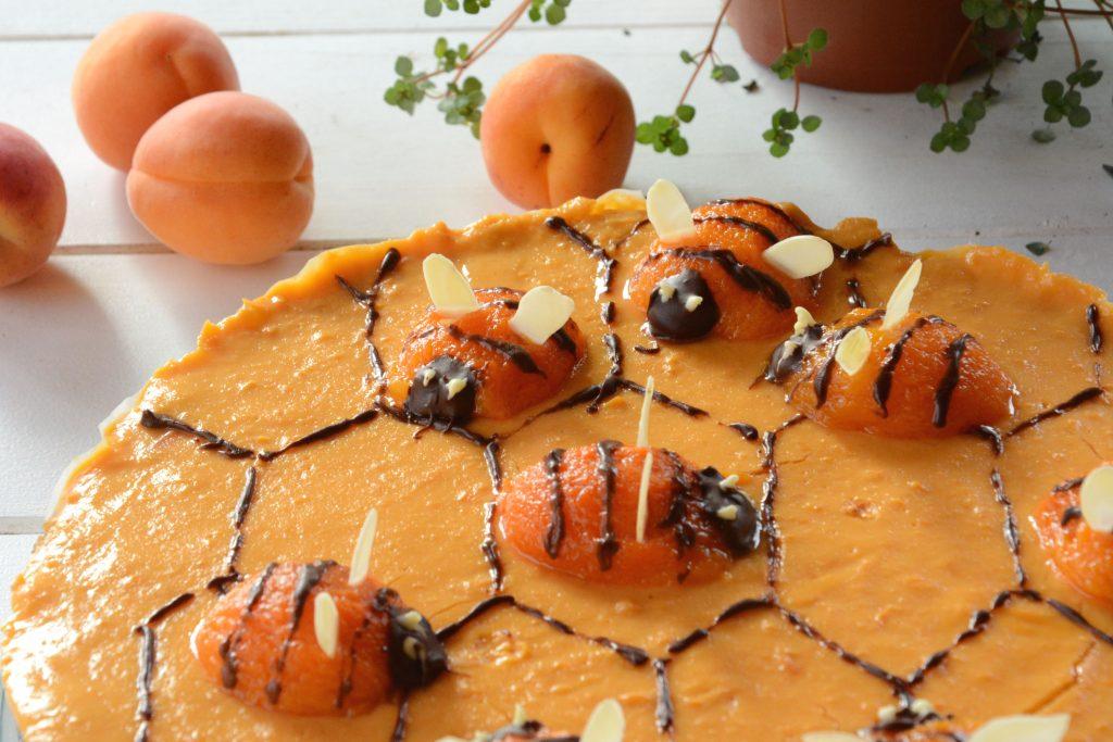 tarte ruche aux abeilles / tarte curd abricot - décoration - Au Fil du Thym