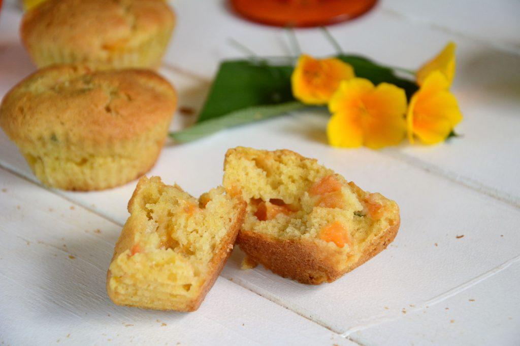 Muffins moelleux melon - Délicieux gâteaux melon - Au Fil du Thym